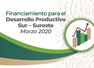 Incentivo Sur Sureste Marzo 2020