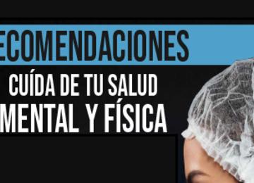 CUIDADOS PARA EL PERSONAL DEL SERVICIO DE SANIDAD NAVAL