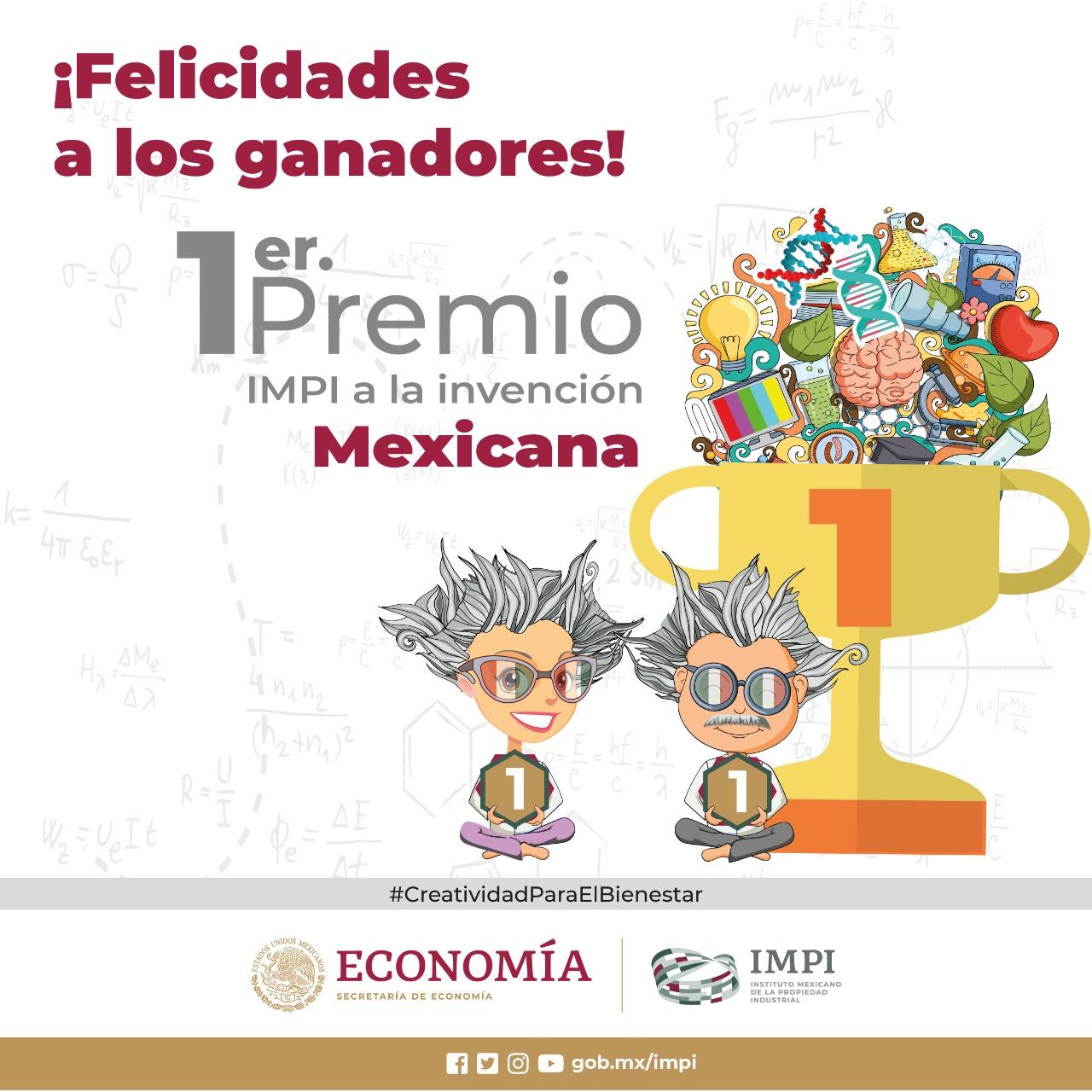 Primer premio IMPIal inventor mexicano