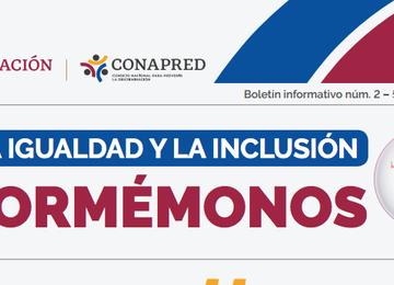 """Banner Boletín Informativo """"Por la Igualdad y la Inclusión"""""""