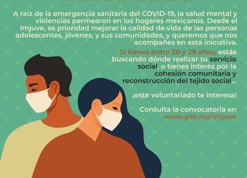 Convocatoria Contacto Joven Red Nacional de Atención Juvenil