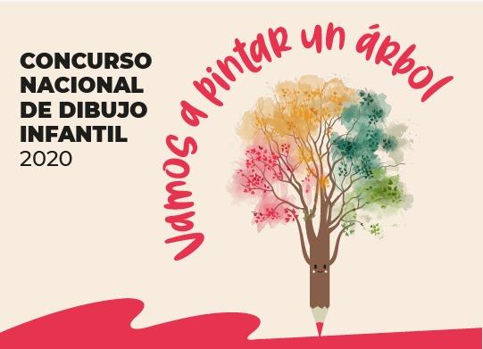 """Concurso Nacional de Dibujo Infantil 2020 """"Vamos a pintar un árbol"""""""