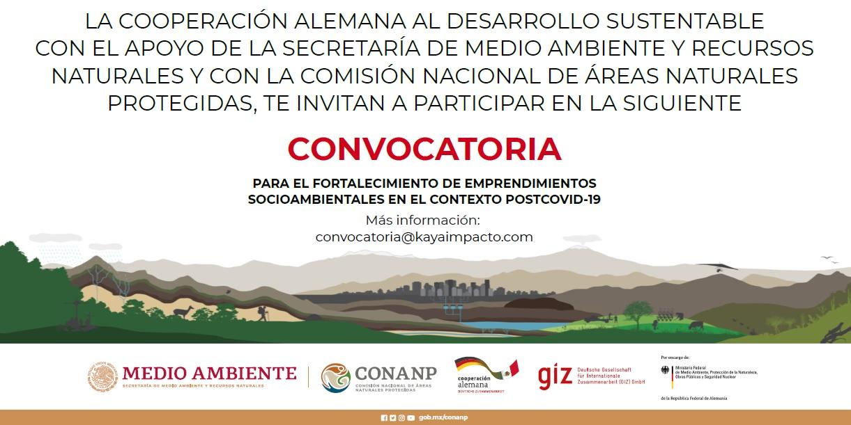 Convocatoria Fortalecimiento Socioambiental Post Covid-19.