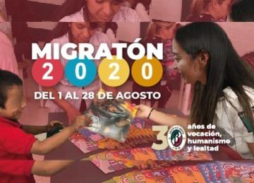 Inicia INM Migratón 2020