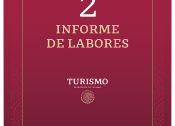 Secretaría de Turismo - Segundo Informe de Labores 2019-2020