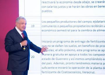 100 compromisos del presidente Andrés Manuel López Obrador.