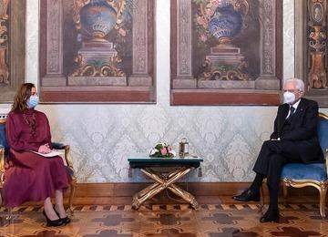 Carta al presidente de Italia