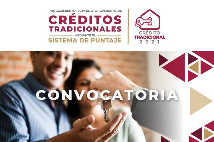 Convocatoria para el Otorgamiento de Créditos Tradicionales mediante el Sistema de Puntaje 2021