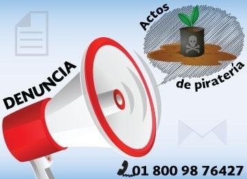 Denuncia actos de piratería