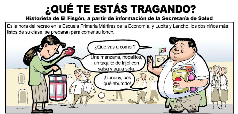 Historieta de El Fisgón