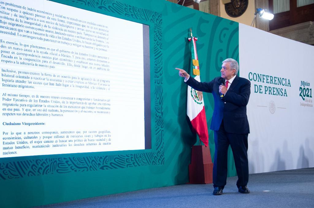 Le ponemos Carta a Joseph Biden, 2012