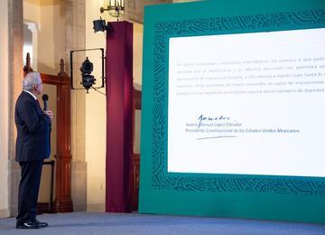 Carta del presidente Andrés Manuel López Obrador a las y los gobernadores de México