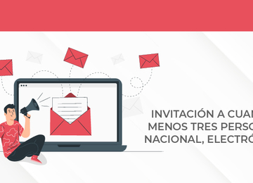 Invitación a Cuando Menos Tres Personas Nacional, Electrónica