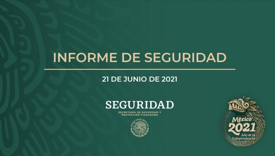 Informe mensual de seguridad junio 2021