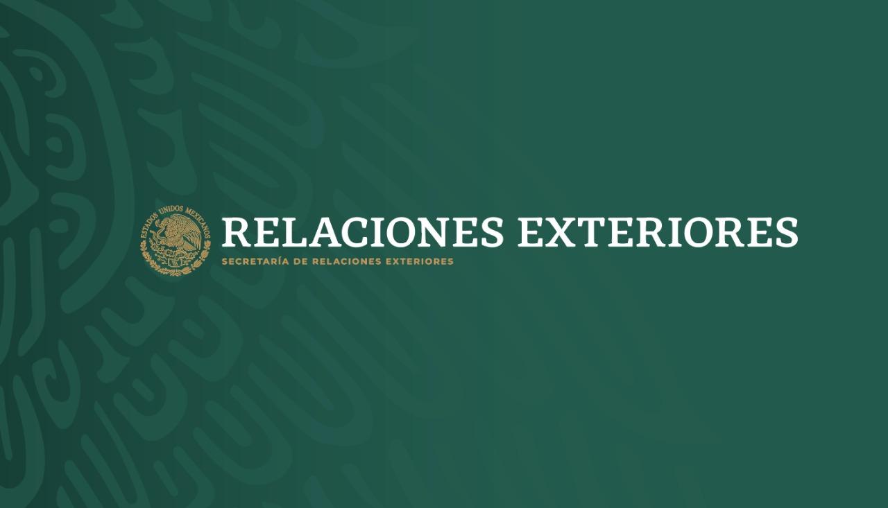 Nota Informativa Conjunta RELACIONES EXTERIORES SEGURIDAD