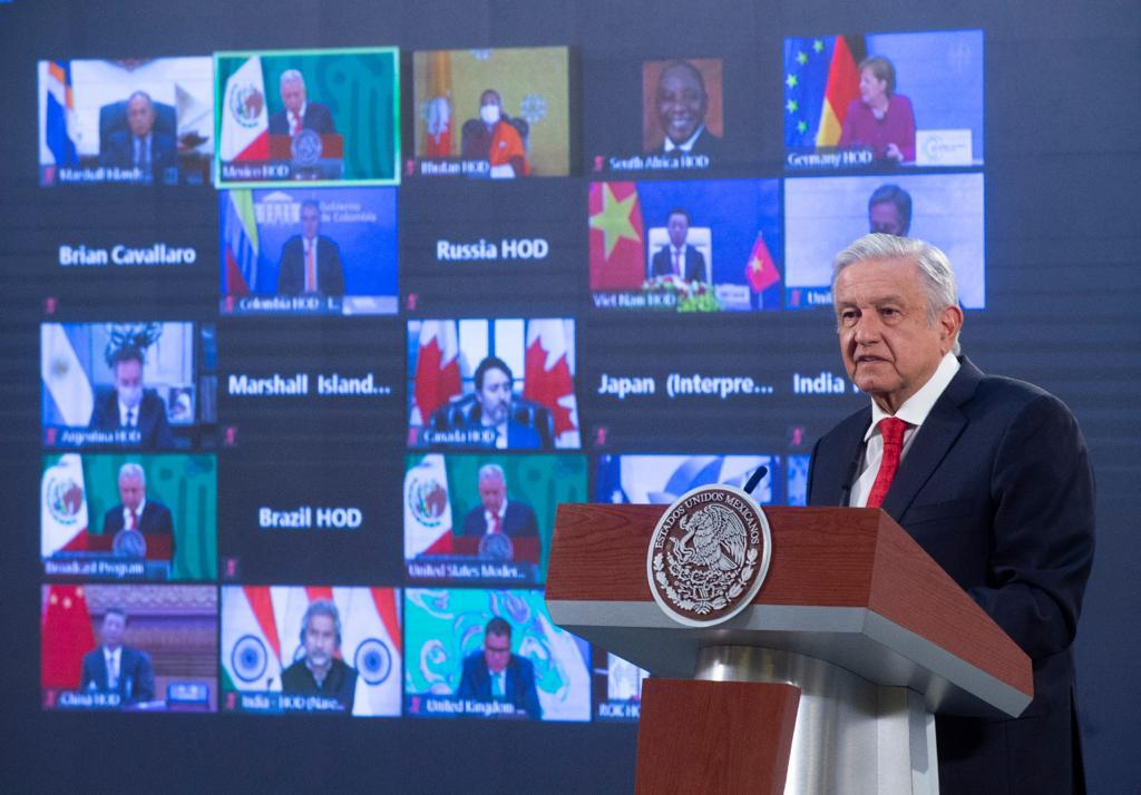 Mensaje del presidente durante la Cumbre de Líderes sobre Cambio Climático