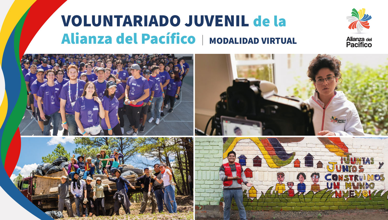 Postula al Programa de Voluntariado Juvenil de la Alianza del Pacífico y vive una experiencia de integración con jóvenes de Chile, Colombia, México y Perú