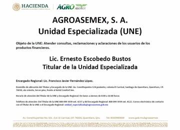 AGROASEMEX, S.A.