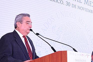 """Inauguración de la exposición fotográfica """"Sistema Satelital Mexicano"""""""