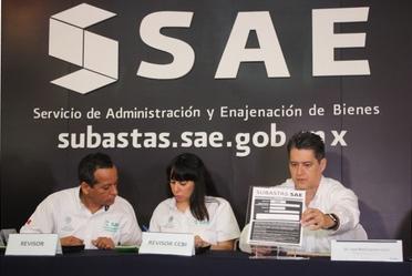Licitación Pública de Inmuebles simultánea en el Puerto de Veracruz y la Ciudad de México.