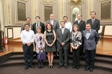 Firma de Convenio con el H. Congreso de Puebla