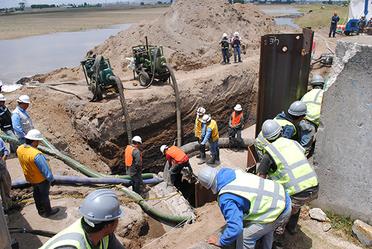 Conagua realizará trabajos en los acueductos del Sistema Cutzamala.