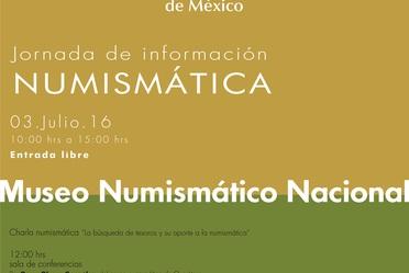Jornada Numismática del mes de julio.