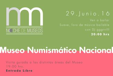 Noche de Museos del mes de junio, 2016