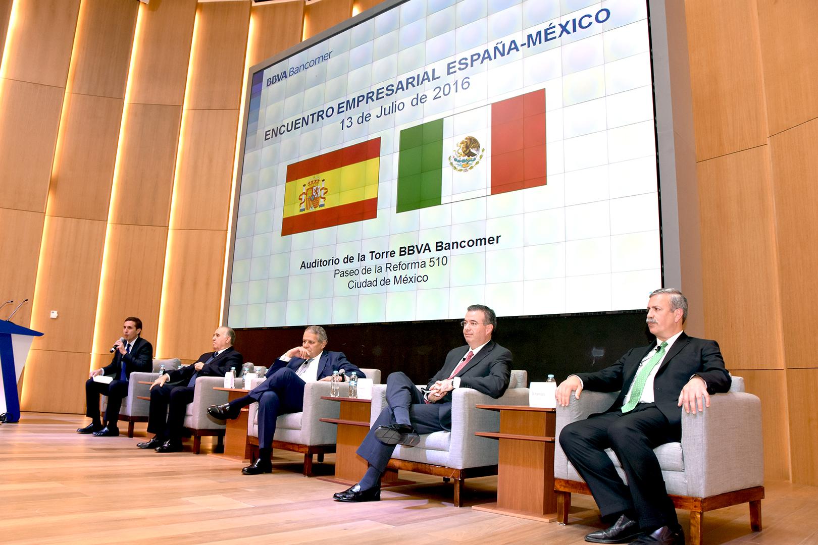 Encuentro empresarial m xico espa a banco nacional de for Gobierno exterior
