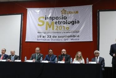 Los días 19 al 23 de septiembre se llevó a cabo el Simposio de Metrología 2016.