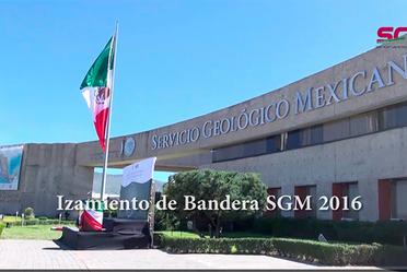 Izamiento de Bandera SGM 2016
