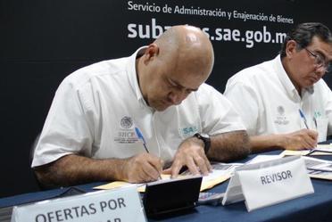 Octava Licitación Pública de Inmuebles 2016, simultánea en Hermosillo y Ciudad de México.