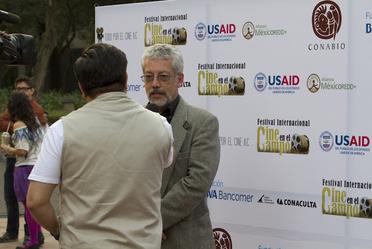 Dr. Carlos Enrique Galindo Leal, Director General de Comunicación de la Ciencia de la CONABIO.
