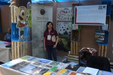CONABIO en ECOFEST 2013,  en La Milla,  Bosque de Chapultepec.