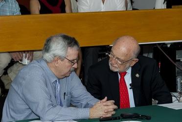 Visita del Dr. Braulio Ferreira, Secretario Ejecutivo del  Convenio sobre la Diversidad Biológica (CDB).