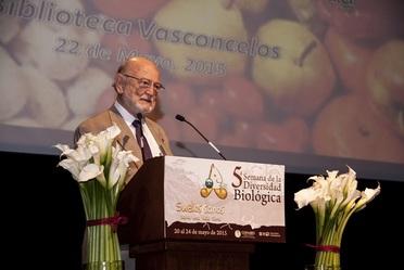 Dr. José Sarukhán Kermez Coordinador Nacional  de la CONABIO.