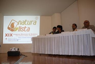 Congreso Mexicano de Botánica en Chiapas.