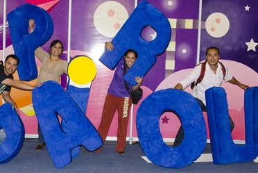 Papirolas 2013, Festival creativo para niños y jóvenes organizado por la Universidad de Guadalajara.