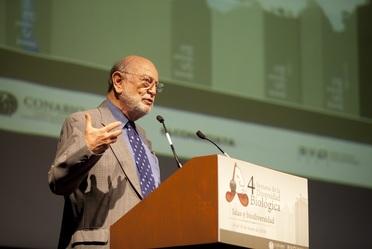 Dr. José Sarukhán Kermez, Coordinador Nacional de la CONABIO.