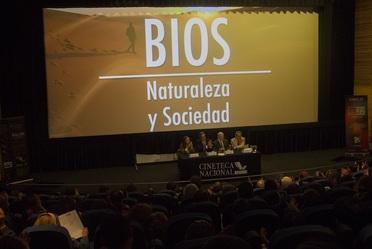 Presentación Serie BIOS Naturaleza y Sociedad en la Cineteca Nacional.