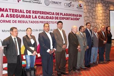 El pasado 02 de diciembre, en la Casa de Gobierno de Michoacán se presentaron los resultados del Fondo Mixto CONACYT-MICHOACÁN