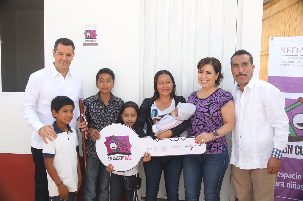 Cinco mil 600 familias de oaxaca son beneficiadas con la for Cuarto mas empresa