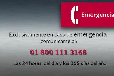 Número de Emergencias Radiológicas