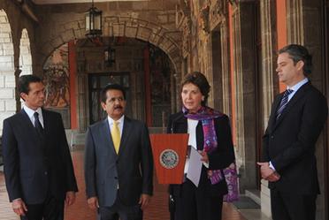 Inauguración de la exposición Constitución Mexicana 1917-2017. Imágenes y Voces