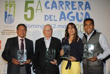 Presentan la Quinta Edición de la Carrera del Agua