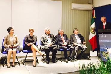 Ing. Roberto Kobeh González,  mencionó que actualmente existen siete oficinas regionales, una de ellas establecida en México. Añadió que cada una es responsable de brindar   seguridad y prestar servicios a los estados contratantes que están acreditados.