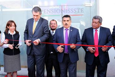 Inaugura PENSIONISSSTE centro de atención en Ixtapaluca