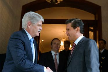 Reunión con Ministro de Asuntos Exteriores de España, Alfonso Dastis Quecedo