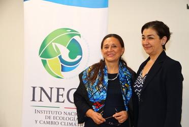 Dra. Amparo Mtz. y Biól. Magdalena Ruíz anuncian IPCC en México