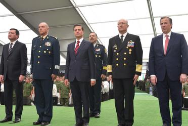 Encuentro con militares y marinos con sus familias